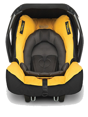 Baby Car Seat Mineral Yellow, Yellow Car Seat And Stroller